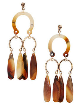 Horseshoe Resin Earrings by Boston Proper
