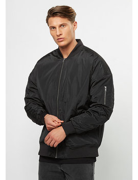 Oversized Bomber Black by Urban Classics