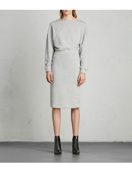 Chrissy Sweat Dress by Allsaints