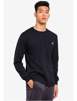 All Eyez Pocket Long Sleeve Tee by Obey