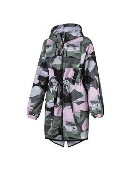 Chase Aop Zip Up Hooded Women's Parka by Puma