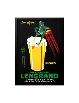 Lengrand Brasserie Print by Luxe West