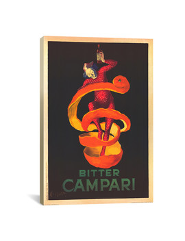 Bitter Campari by I Canvas Art