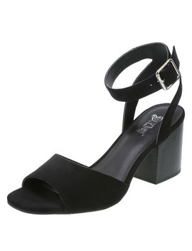 Women's Nona Block Heel Sandal by Learn About The Brand Brash