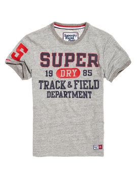 Trackster Ringer T Shirt by Superdry