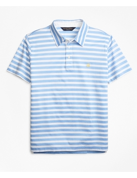 Slim Fit Stripe Polo Shirt by Brooks Brothers