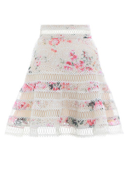Laelia Flutter Skirt by Zimmermann