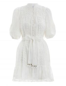 Castile Flower Short Dress by Zimmermann