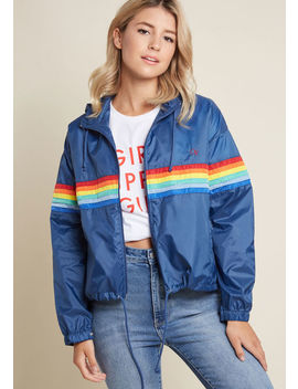 On Second Yacht Windbreaker by Modcloth