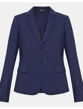 Good Wool Carissa Blazer by Theory