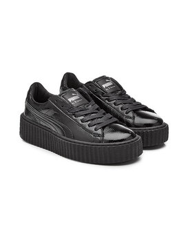 Patent Leather Creeper Sneakers by Fenty Puma By Rihanna