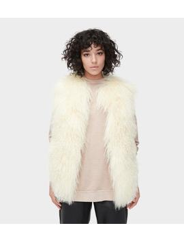 Abbey Mongolian Shearling Vest by Ugg