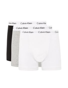 Calvin Klein's Assorted Colour Trunks 3 Pack* by Topman