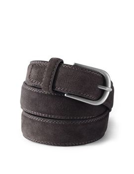 Men's Suede Belt by Lands' End