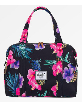 Herschel Supply Co. Strand Xs Black Pineapple 12.5 L Duffle Bag by Herschel Supply