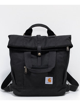 Carhartt Black Hybrid Tote Backpack by Carhartt