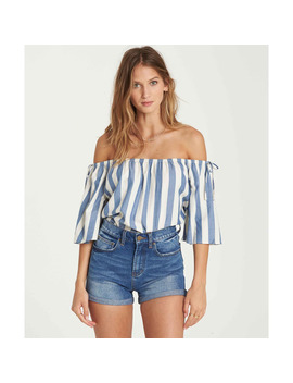 Match Up Off The Shoulder Top by Billabong