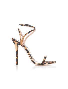 Women's Silk Jaguar Alien Stiletto Sandals by Giuseppe Zanotti