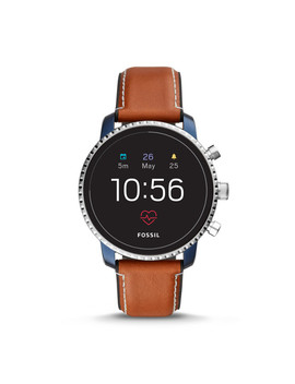 Gen 4 Smartwatch   Q Explorist Hr Tan Leather by Fossil