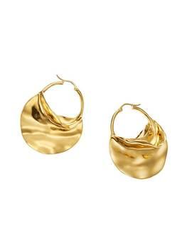Taber Metal Earrings   Pair by Jessica Buurman