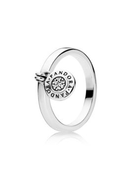 Pandora Signature Ring, Clear Cz by Pandora