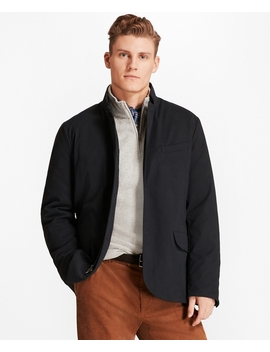 Nylon Hybrid Jacket by Brooks Brothers