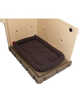 Asl Solutions Grey Insulated Dog Palace & Bed Combo by Asl Solutions