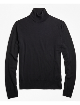 Brooks Tech™ Merino Wool Turtleneck by Brooks Brothers