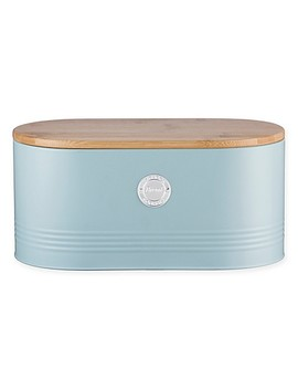 Typhoon®  Living Storage Tin Bread Bin With Bamboo Lid by Bed Bath & Beyond
