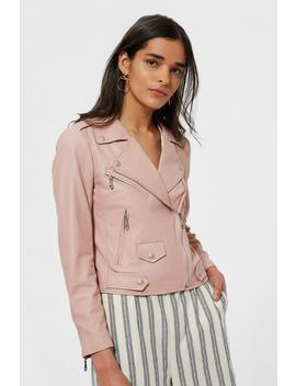 Wes Moto Jacket With Neoprene by Rebecca Minkoff