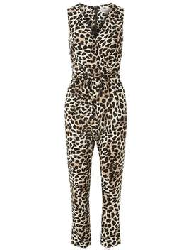 Petite Animal Jumpsuit by Dorothy Perkins