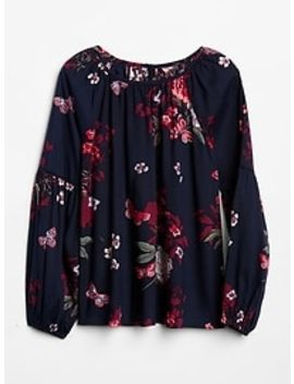 Balloon Sleeve Top by Gap