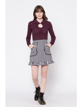 Balancing Act Skirt by Dangerfield