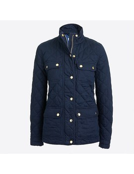 Quilted Field Jacket by J.Crew