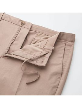 Men Ezy Ankle Pants (Cotton) by Uniqlo