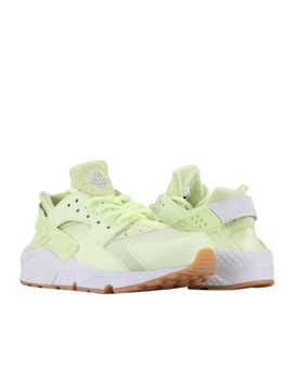 Nike Women's Wmns Air Huarache Run Trainers Barely Volt by Nike