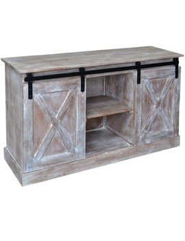 Shanty2 Chic Cross Door Media Console by At Home