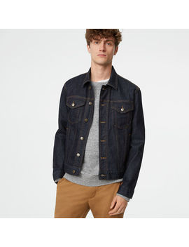 Dark Wash Denim Jacket by Club Monaco