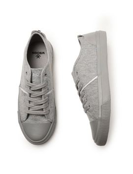 Grey Sneakers by Wrogn
