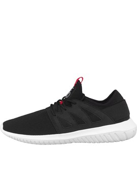Dfnd London Mens Utah Trainers Black/White by Mand M Direct