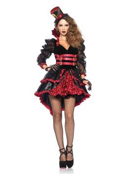 Sexy Black Burgundy 3 Pc. Victorian Vamp by Ami Clubwear