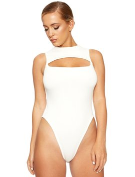 The Nw Hole'd U Tight Bodysuit by Naked Wardrobe
