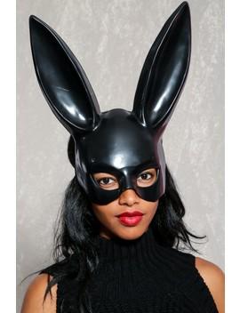 Sexy Black Rabbit Mask by Ami Clubwear