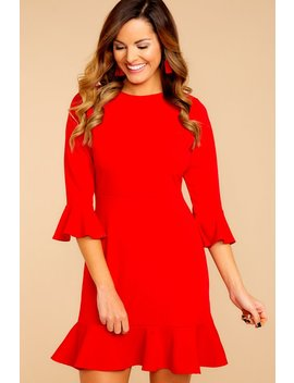 My Favorite Night Red Dress by Aura