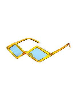 Far Out Blue & Yellow Sunglasses by Tunnel Vision