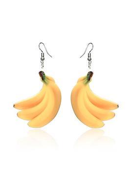 Banana Rama Earrings by Tunnel Vision