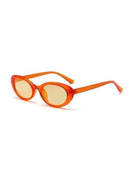 Drop Dead Gorgeous Orange Sunnies by Tunnel Vision