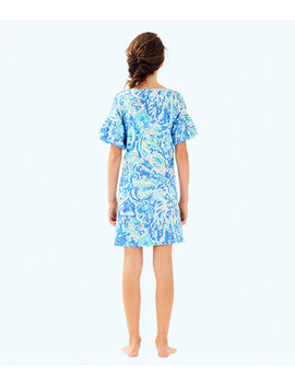 Girls Mini Lindell Dress by Lilly Pulitzer