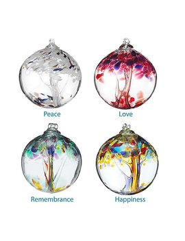 Recycled Glass Tree Globes   Wishes by Stephen Kitras