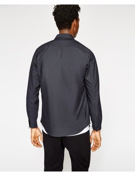 Black Shirt With Bomber Pocket Black Shirt With Bomber Pocket by The Kooples